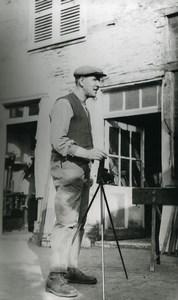 France Amateur photographer old Photo & Negative 1950