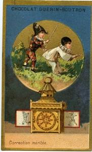 France old Chromo Guérin-Boutron Magic Lantern circa 1880