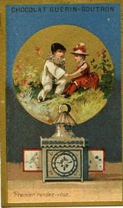 France Ancienne Chromo Guérin-Boutron Lanterne Magique vers 1880