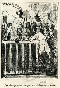 France Nadar & Darjou Caricature Photographe Journal Amusant 1861
