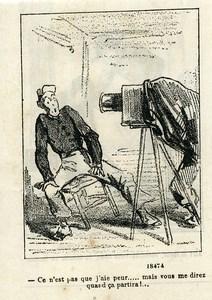 France Nadar & Darjou Photographer Caricature Journal Amusant 1861