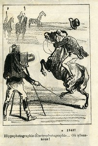 France Nadar & Darjou Photographer Caricature Journal Amusant 1861