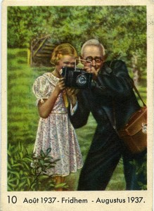Publicity for Côte d'Or Chocolate Photographer old Photo 1937