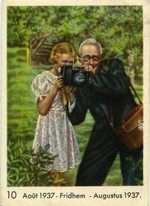 Publicité pour Chocolat Cote d'Or Photographe Ancienne Photo 1937