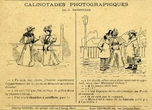 Calinotades Photographiques par Dassonville 1900