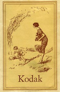 United Kingdom Pochette Publicitaire pour photo Kodak 1925