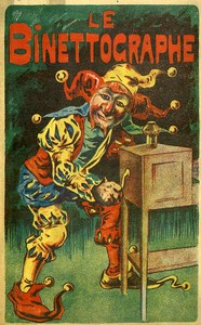 France Publicité pour le Binettographe Ancien papier promo 1880