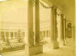France Paris Petit Palais Courtyard World Fair old Photo Neurdein 1900