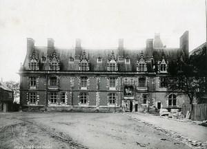 France Blois castle old Photo Peigné 1880