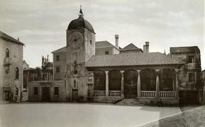 Croatia Trogir City Clock Tower & Loggia old photo 1900