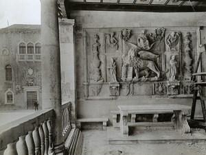 Croatia Trogir City Loggia Relief of Justice old photo 1900