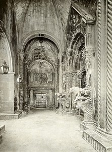 Croatia Trogir Cathedral of St. Lawrence Sv. Lovre old photo 1900