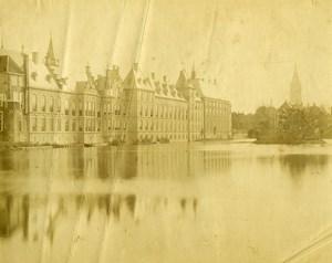 Netherlands La Haye The Hague old Photo 1880