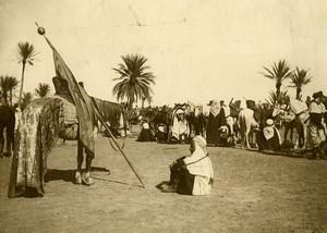 Algeria Bou Saada Horse riders Group old Photo 1900