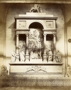Italy Venice Venezia Tiziano Monument old Photo Paolo Salviati 1880