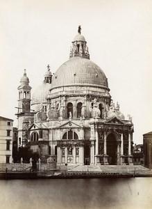 Italy Venice Venezia Basilica Santa Maria della Salute Photo Paolo Salviati 1880