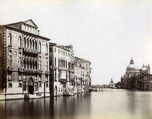 Italy Venice Venezia Canale Grande old Photo Paolo Salviati 1880