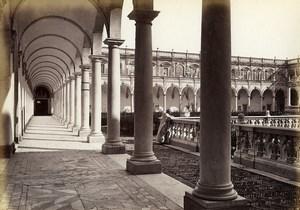 Italie Naples Napoli San Martino Ancienne Photo Giorgio Sommer 1870