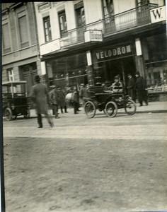 Allemagne Berlin Second Salon Automobile Dansk 1898? Ancienne Photo 1898