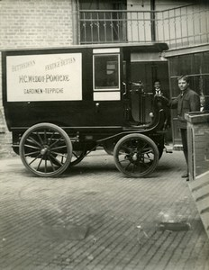 Allemagne Berlin Second Salon Automobile Camion Weddy-Pönicke Ancienne Photo 1898