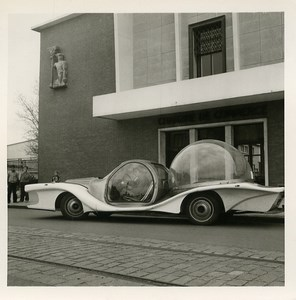 France Calais 25th Trade Fair Ormarin Amphibious Automobile old Photo Lot 1964