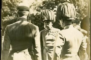 Austria Portrait of Emperor Franz Joseph I old Photo Trampus 1914