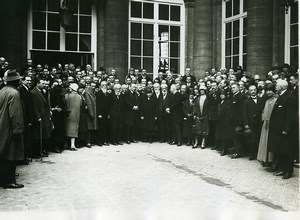 France Paris French-Polish medical congress at the faculty old Photo 1920
