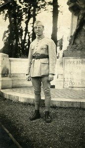 France Roubaix Racing Club War Memorial Monument aux Morts old Photo 1924