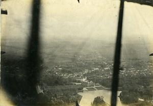 France WWI Rambouillet Chateau vue aérienne Ancienne Photo 1918