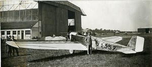 German Aviation Klemm L25 D-1357 Monoplane Old Photo 1928