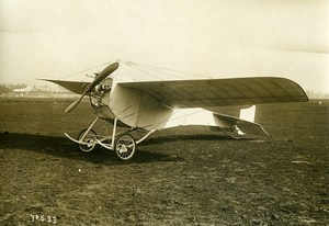 France Ladougne's La Colombe Dove Monoplane Aviation Old Photo 1912