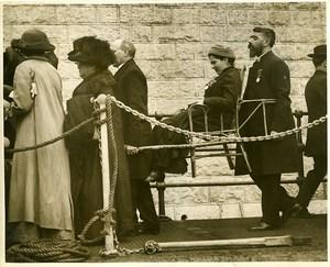 England Folkestone Irish national pilgrimage to Lourdes Old Photo 1920