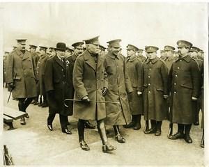 Wales WWI Lloyd George in Llandudno Welsh Army Corps old Photo 1915