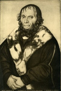 Brussels Arts Painting by Cranach Old Bruckmann Photo 1880