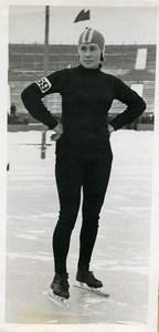 Russie Gorky Sports Seraphima Paromova Patin a Glace Ancienne Photo TASS 1939