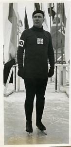 Russie Gorky Sports Yakov Melnikov Patin a Glace Ancienne Photo TASS 1939