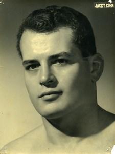 Sports Paris Champion de Lutte & de Catch Jacky Corn Ancienne Photo 1960
