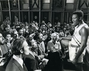 USA Sports Cassius Clay in The Greatest Muhammad Ali Old Photo 1977