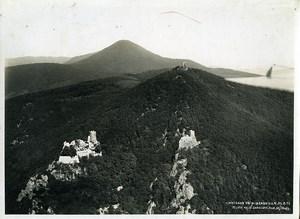 France Armée Panorama Château de Ribeauville Gangloff Hegly Ancienne Photo aérienne 1933