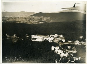 France Panorama Alsace Trois Epis Gangloff Hegly Old Aerial Military Photo 1933
