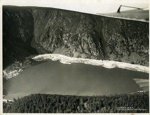 France Alsace Panorama Lac Blanc Gangloff Hegly Old Aerial Military Photo 1930