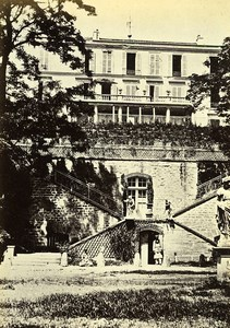 Siege of Paris Commune Ruins Courbevoie Castle of Becon Old Liebert Photo 1870