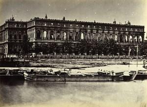 Siege of Paris Commune Ruins Conseil d'Etat Exterior Old Liebert Photo 1871