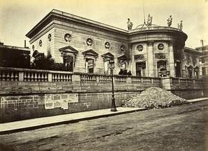 Siege of Paris Commune Ruins Légion d'Honneur Old Liebert Photo 1871