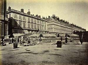 Commune de Paris Ruins Barricade des Federes Concorde Old Liebert Photo 1871