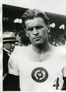 France Athlétisme Portrait d'un Athlete Coureur? Ancienne Photo 1925