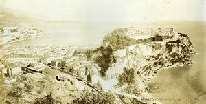 France Monaco General view Old Gilletta Photo 1900