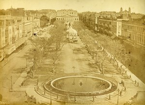 Egypt Alexandria Consuls Square & Cairo Mosque Old Photos Bonfils Zangaki 1890