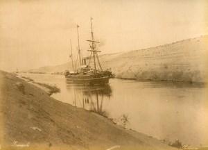 Egypt Suez Canal Sokhara & Moses Fountain Zangaki Comianos Sarolidis Photos 1890