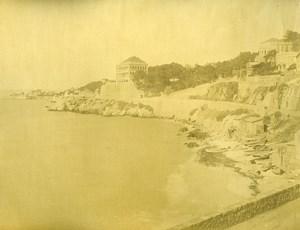 France Marseille Notre Dame de la Garde & Promenade de la Corniche Ancienne Photo 1890